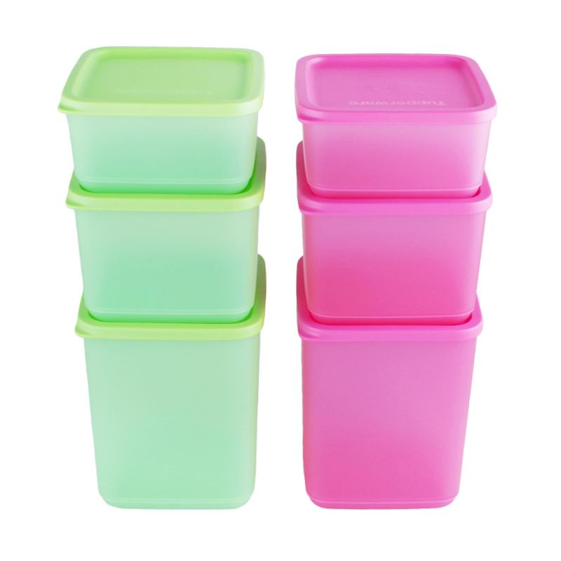 Tupperware Summer Fun Kotak Makan [6 Pcs]