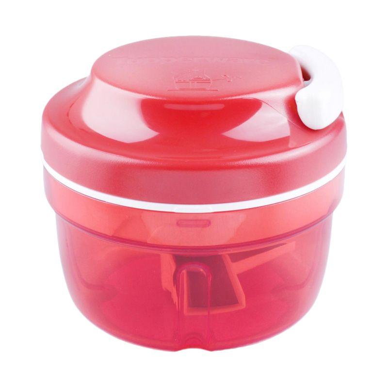 Tupperware Turbo Merah Chopper Peralatan Masak