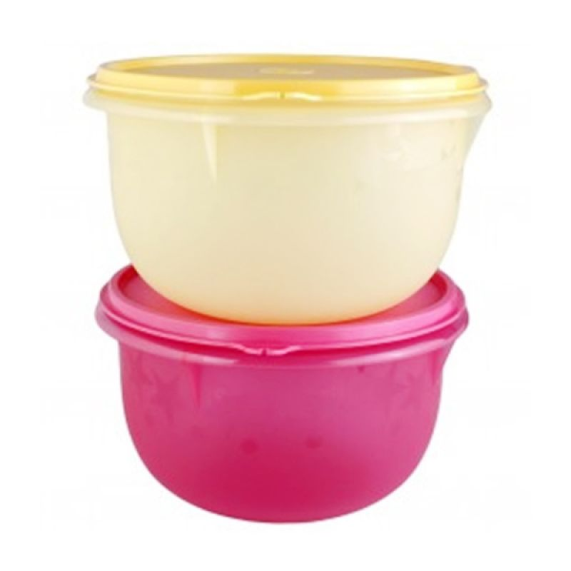Tupperware Twinkle Bowl Tempat Penyimpanan Makanan [2 Pcs]
