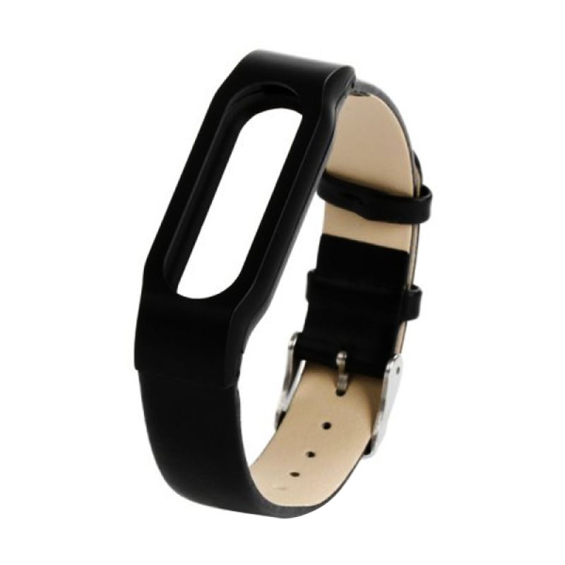Original Leather Wristband Bracelet Leather Belt for Xiaomi Band