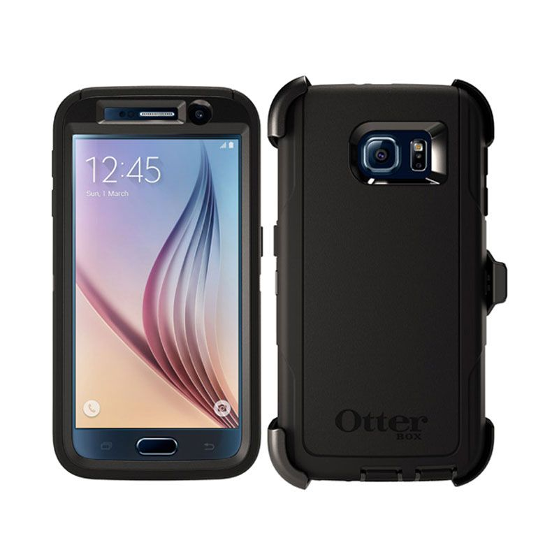 Otterbox Defender Rugged Protection Black Casing for Samsung Galaxy S6