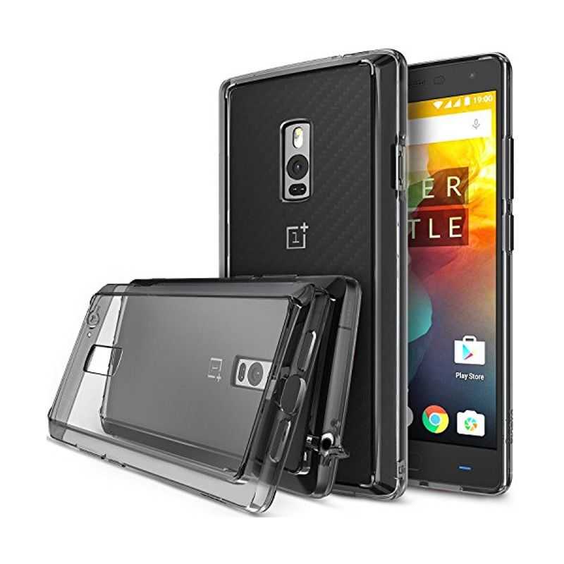 Rearth Ringke Fusion Smoke Black Casing for Oneplus Two
