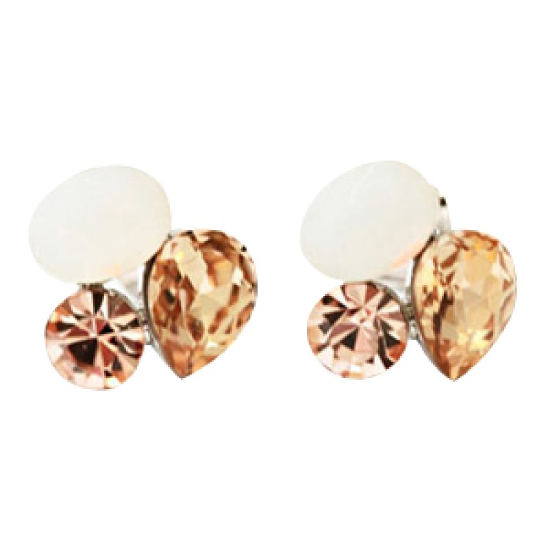Twiinkles Brillante Earrings Whiteopal (2070065)