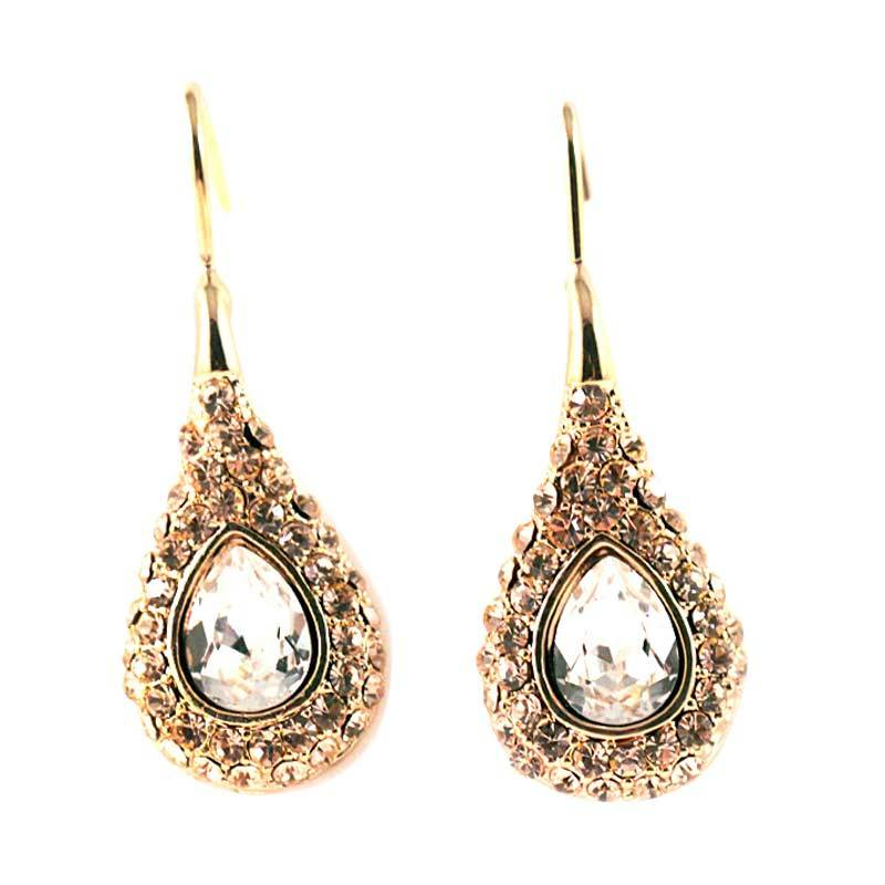 Twiinkles Dangle Gold Plated Earings (2090019)