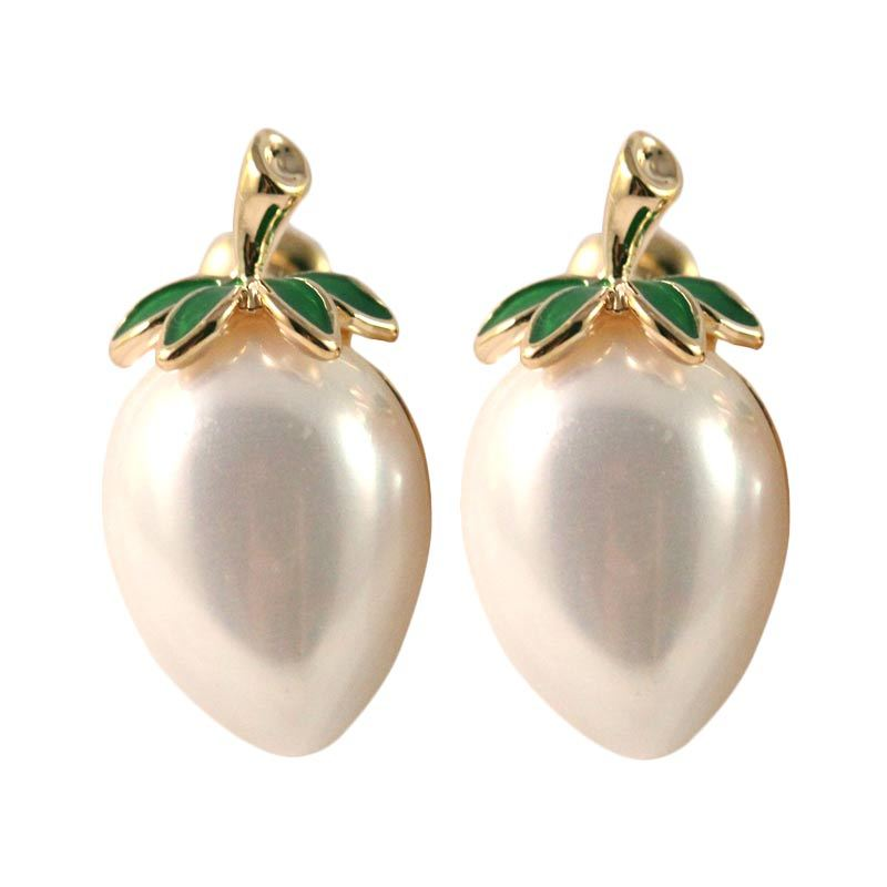 Twiinkles Fruit Gold Plated Earrings (2090022)