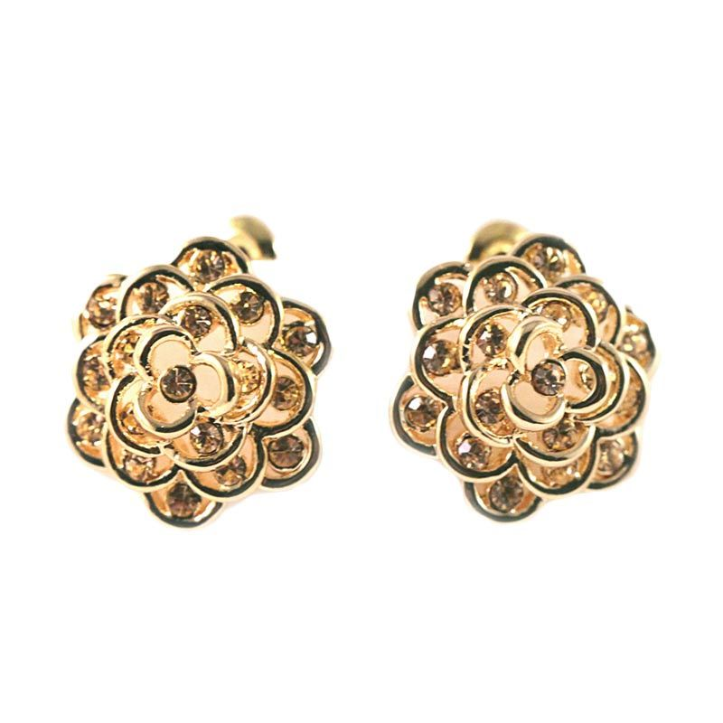 Twiinkles Gold Plating Flower Earrings (2090011)
