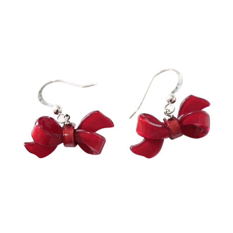 Twiinkles Red Bow Earrings (2060011)