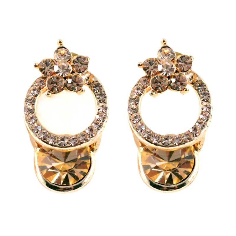 Twiinkles Rouge Cercle Earrings (2050047)