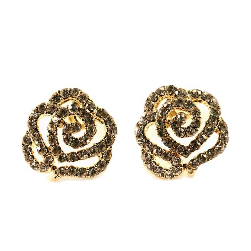 Twiinkles Stieg Gold Plated Earring (2090006)
