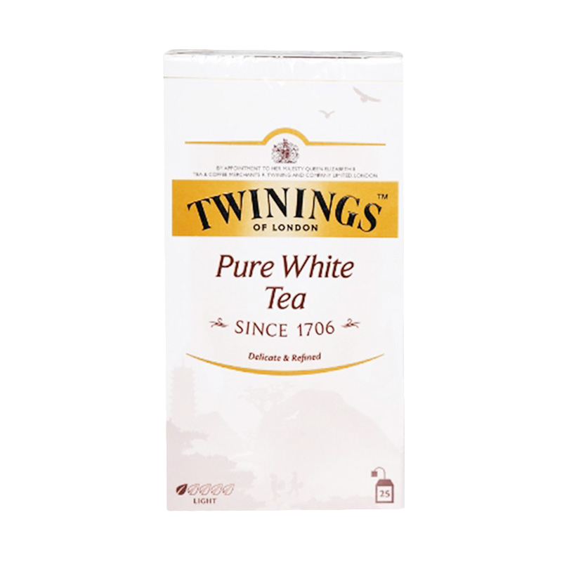 TWININGS Pure White Tea [25X1.5g] 135940