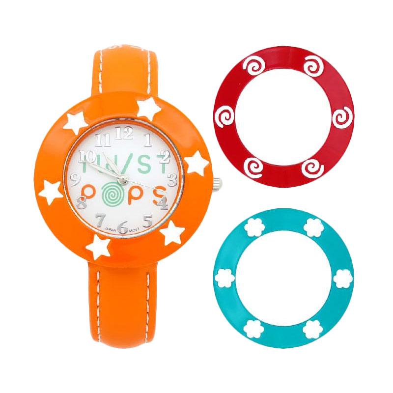 Twist Pops TWISTPOP-O Jam Tangan Remaja Perempuan - Orange