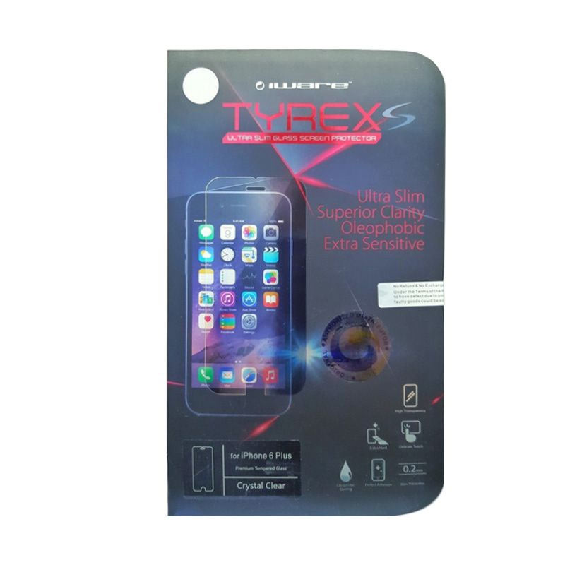 Tyrex Tempered Glass Screen Protector for iPhone 6 Plus or 6S Plus