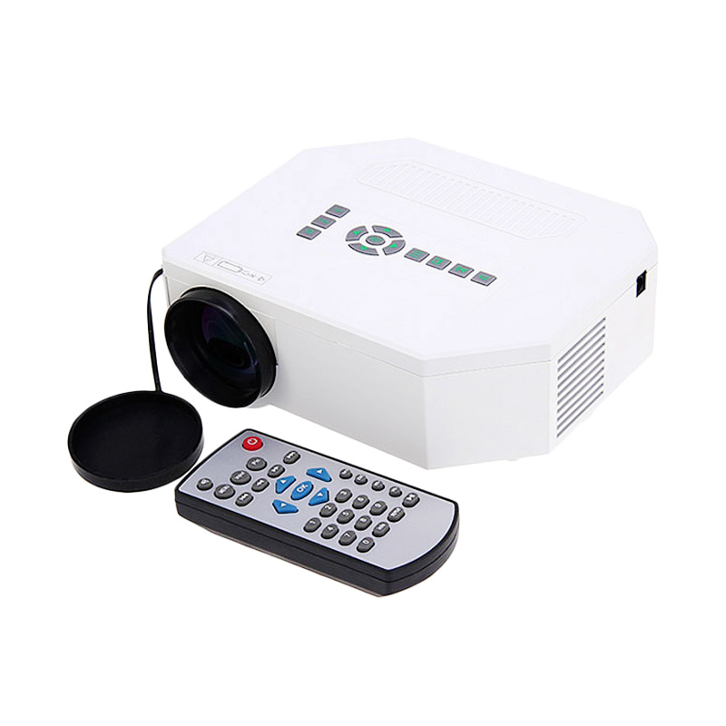 harga UCC UC30 Mini LED Full HD Home Theater Portable Projector - Putih Blibli.com