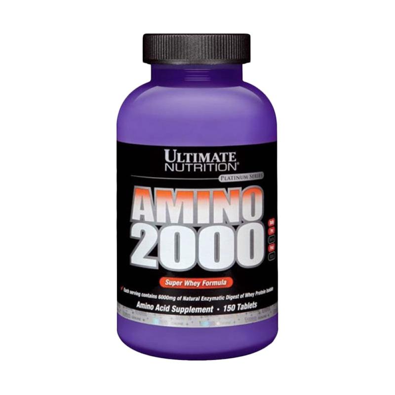 Ultimate Nutrition Amino 2000 Suplemen [150 Tabs]