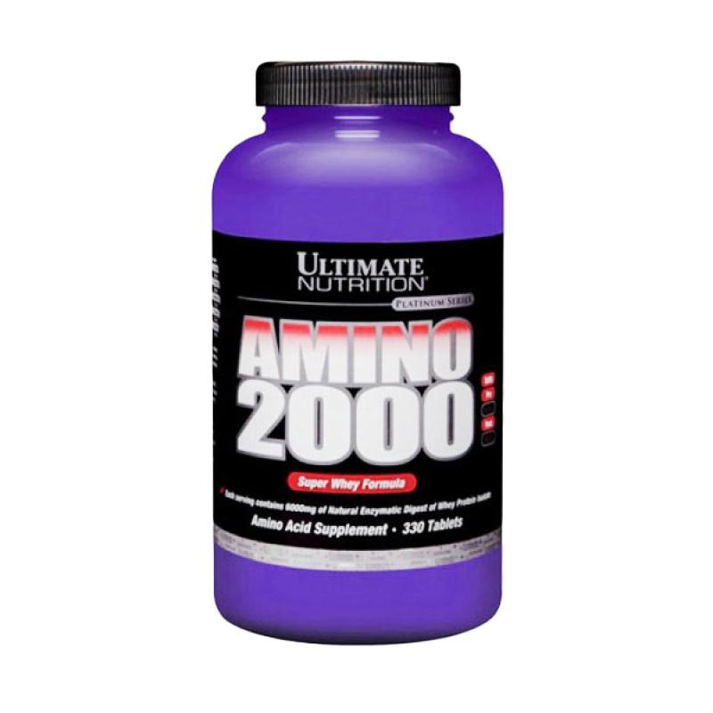 Ultimate Nutrition Amino 2000 Suplemen [330 Tabs]
