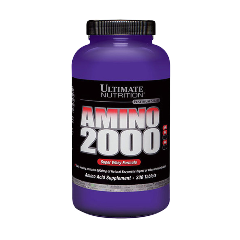 Ultimate Nutrition Amino 2002 [330 Tabs]