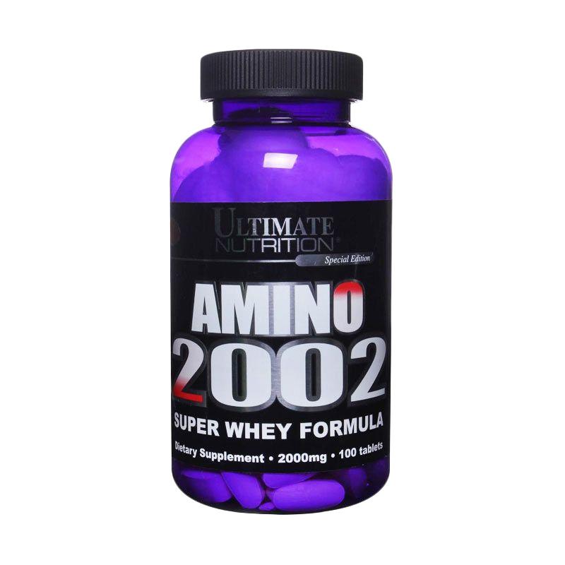 Ultimate Nutrition Amino 2002 Suplemen [100 Tablet]