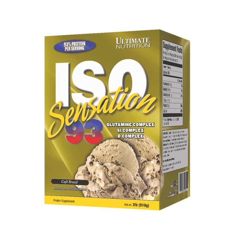 Ultimate Nutrition - Iso Sensation 93 2 lbs Cafe Brazil