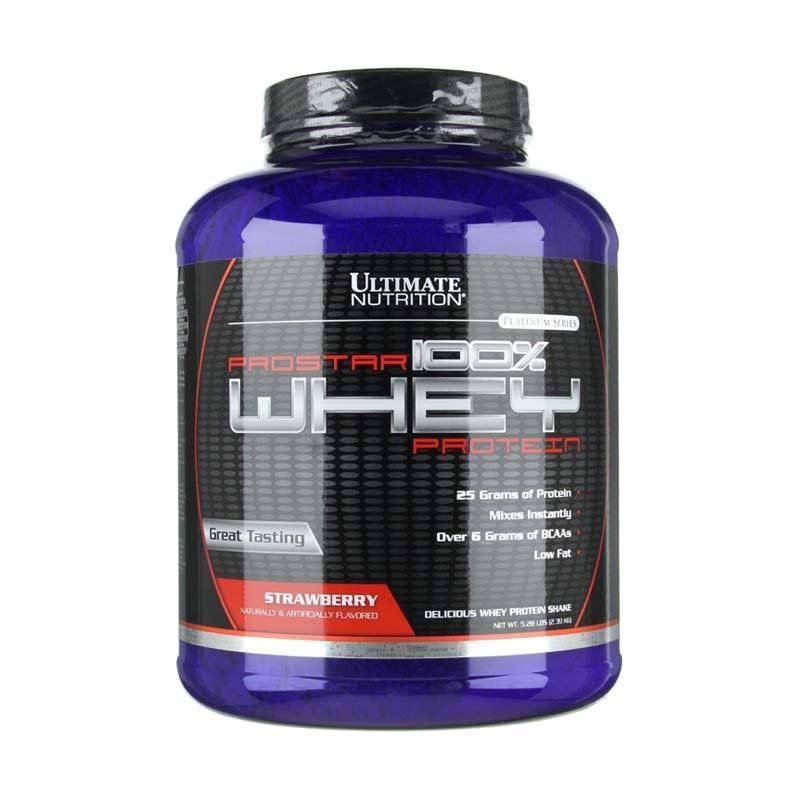 "Susu Penggemuk Badan ""Ultimate Nutrition Prostar 100% Whey Protein"""