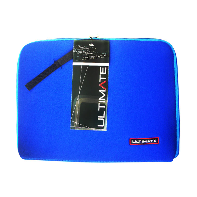 Ultimate Softcase Classic Blue Tas Laptop [12 Inch]