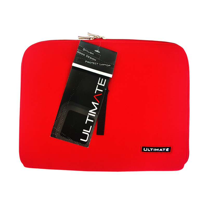 Ultimate Softcase Classic Red Tas Laptop [12 Inch]