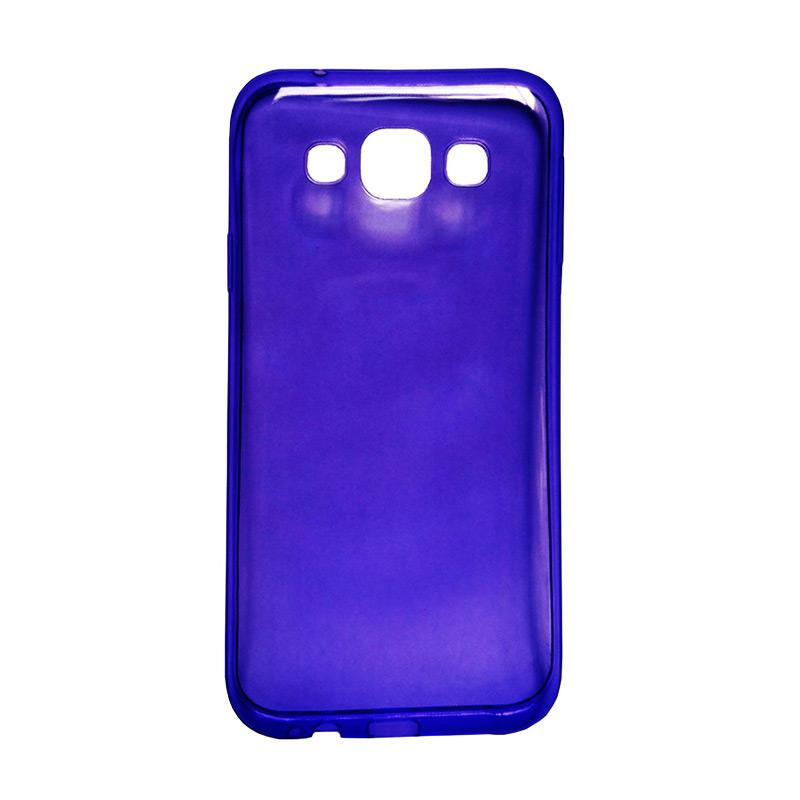 harga Ultra Thin Transparant Softcase Casing for Lumia 640XL - Ungu Blibli.com