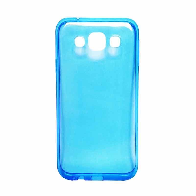 save off 27056 f0c89 Ultra Thin Transparant Softcase Casing for SONY Xperia M4 or M4 Aqua - Biru