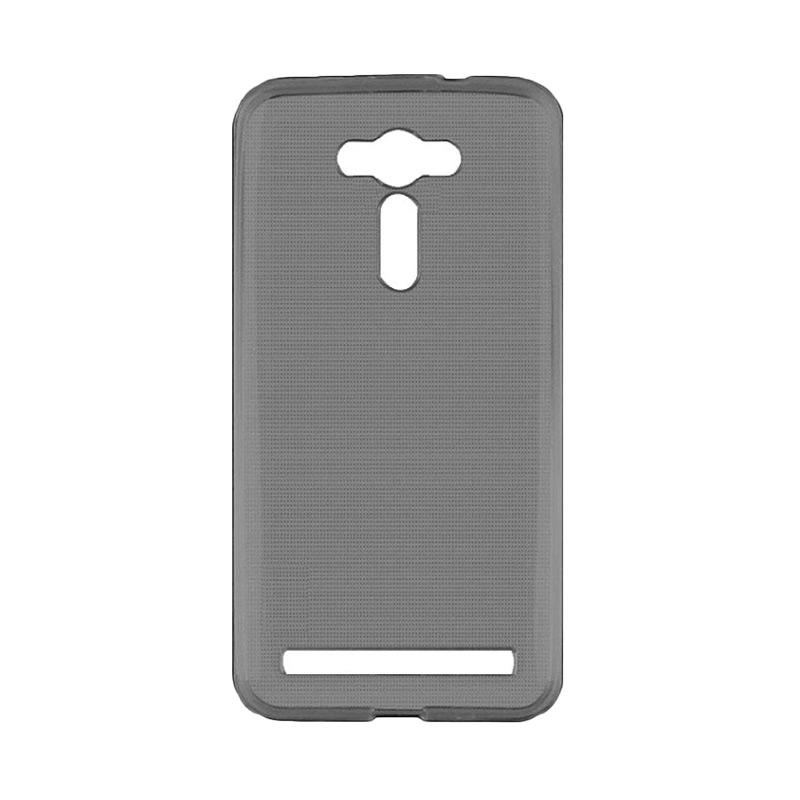 Ultrathin Clear Softcase Casing for Asus Zenfone 2 Laser 5.5 Inch ZE550KL - Hitam