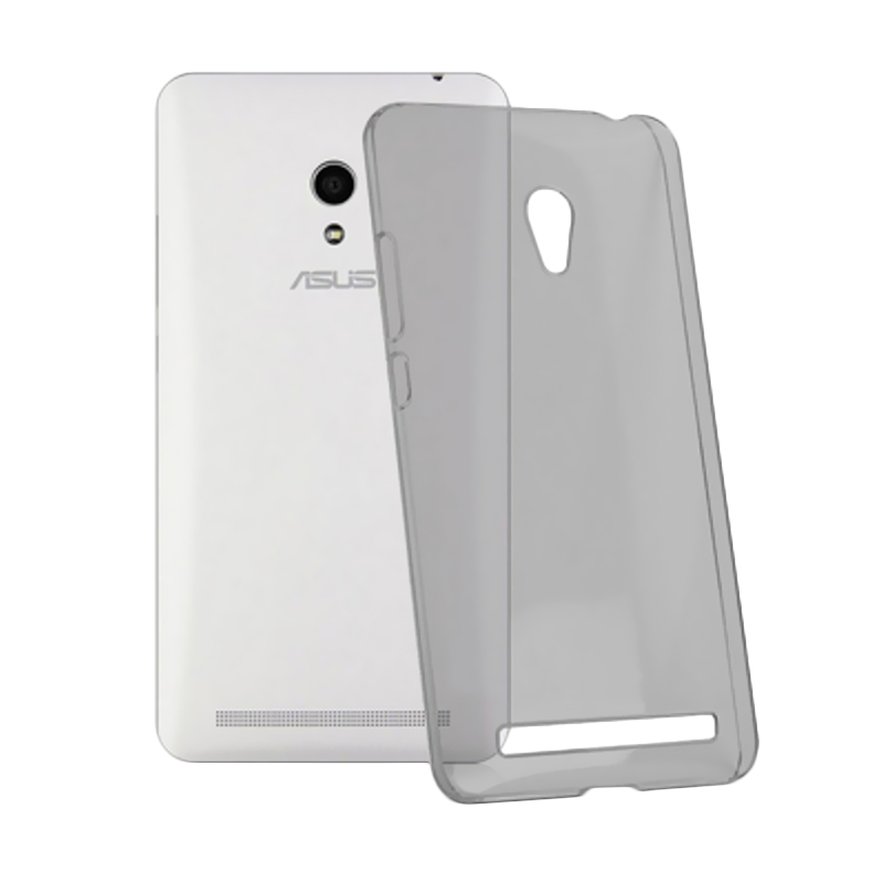 Ultrathin Clear Softcase Casing for Asus Zenfone Go - Hitam [5 Inch]