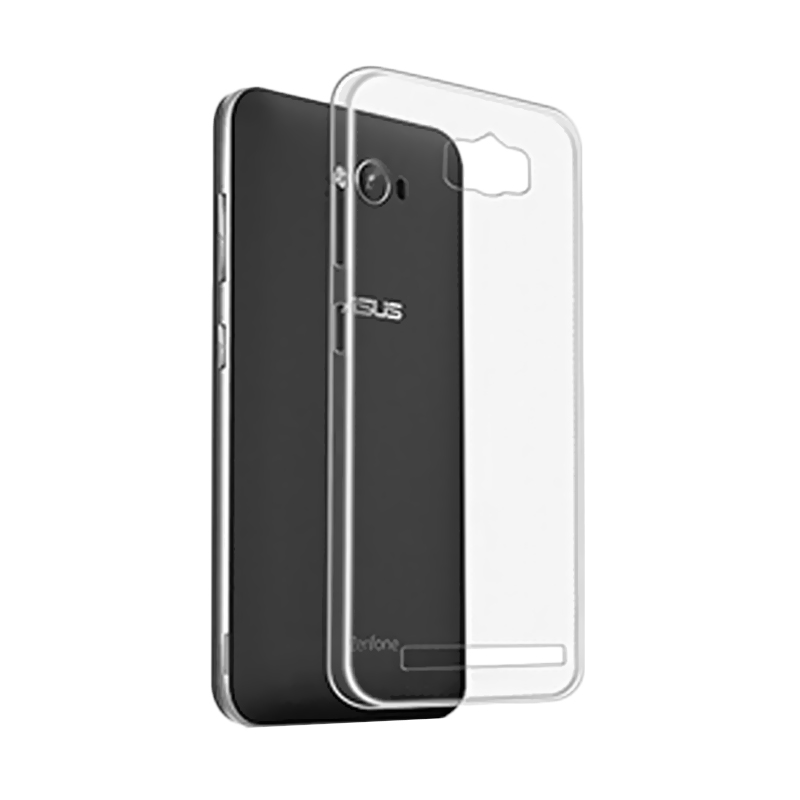 Ultrathin Clear Softcase Casing for Asus Zenfone Max ZC550KL - Hitam