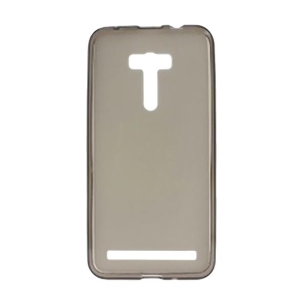 Ultrathin Clear Softcase Casing for Asus Zenfone Selfie ZD551KL - Hitam