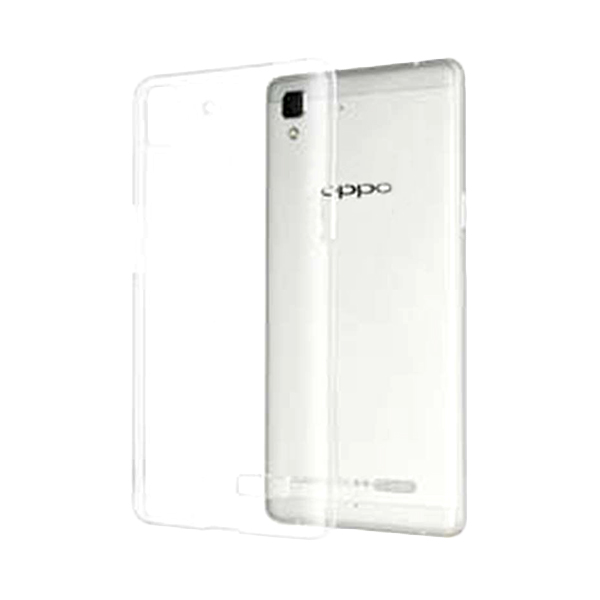 Ultrathin Clear Softcase Casing for Oppo R7 - Putih