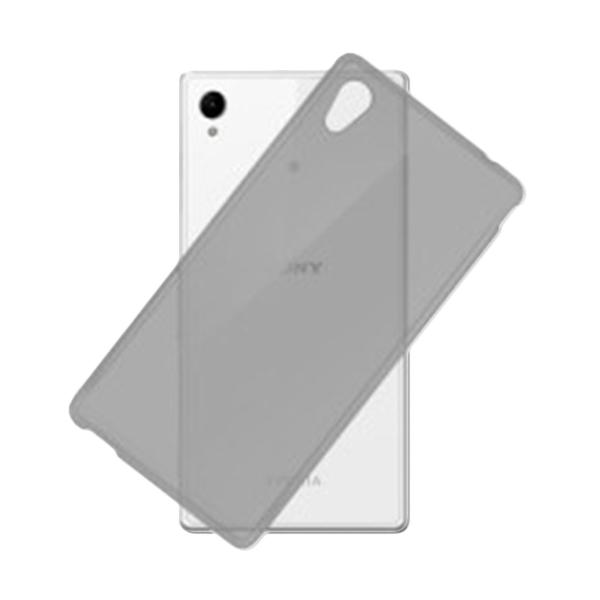 Jual Ultrathin Clear Softcase Casing for Sony Xperia Z5 Plus Premium - Hitam Online - Harga & Kualitas Terjamin   Blibli.com