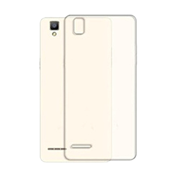 Ultrathin Clear Softcase Casing forOppo F1 A35 - Putih