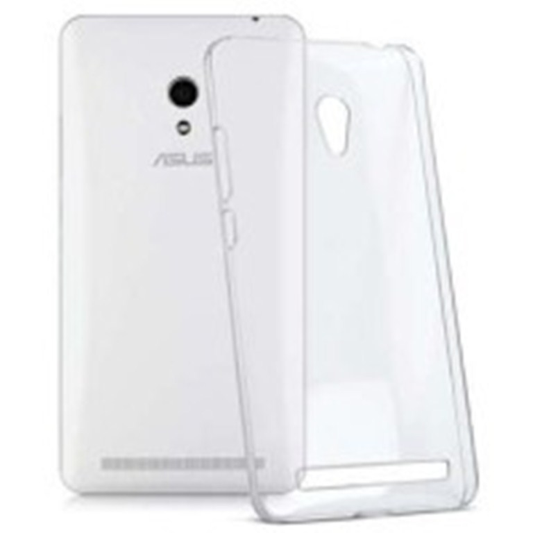 Ultrathin Clear Softcase Casing for Asus Zenfone Go - Putih [5 Inch]