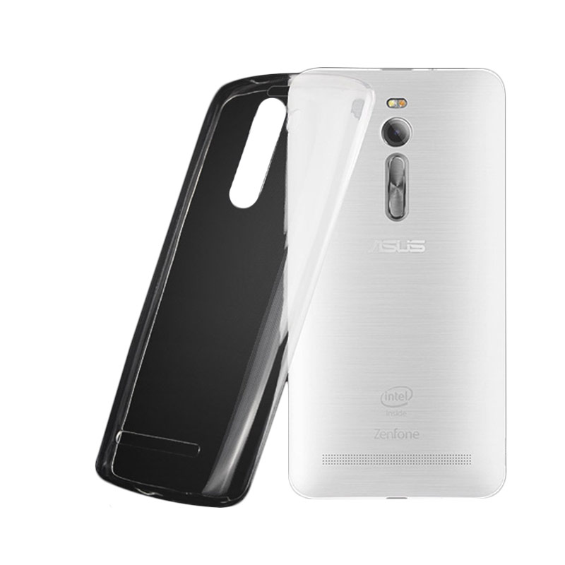 Ultrathin Softcase Casing for Asus Zenfone 2 ZE550ML - Putih Clear