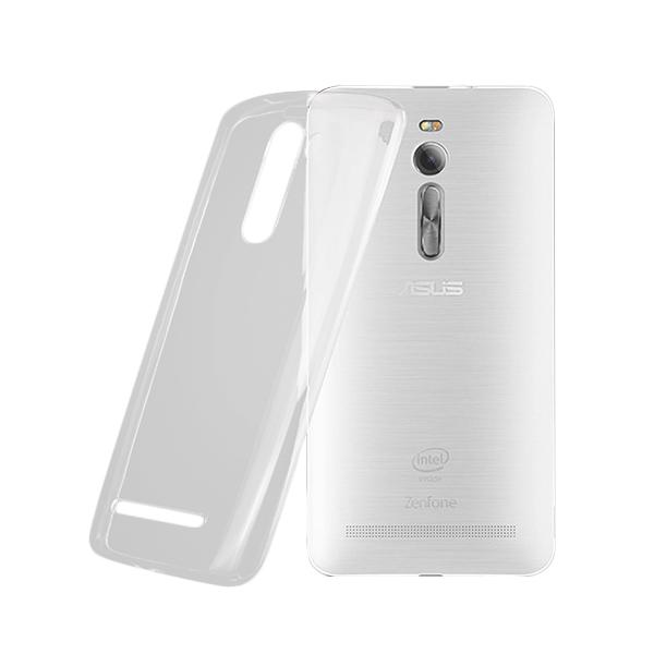 Ultrathin Softcase Casing for Asus Zenfone 2 ZE551ML - Putih Clear