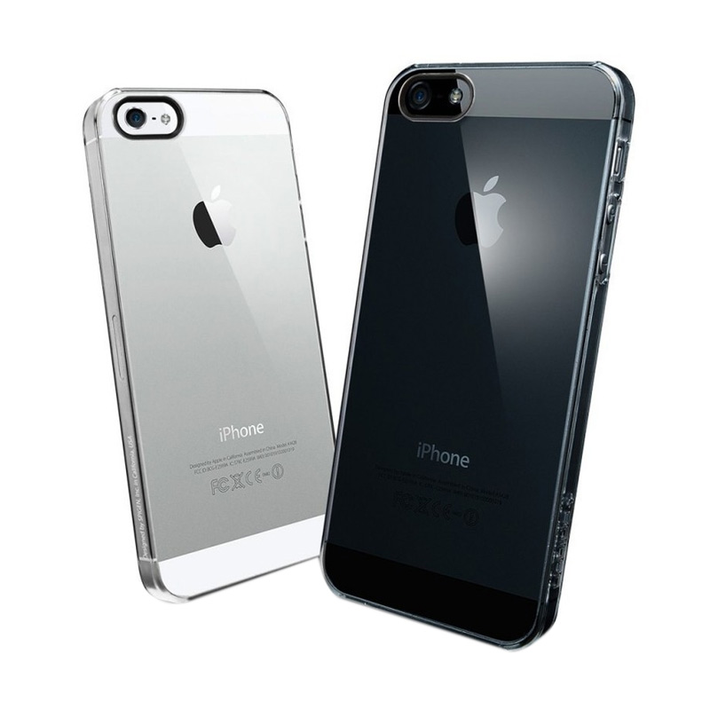 Ultrathin Softcase Casing for iPhone 5 - Putih Clear