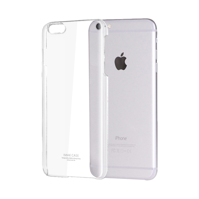 Ultrathin Softcase Casing for iPhone 6 plus or 6s plus 5.5 Inch - Putih Clear
