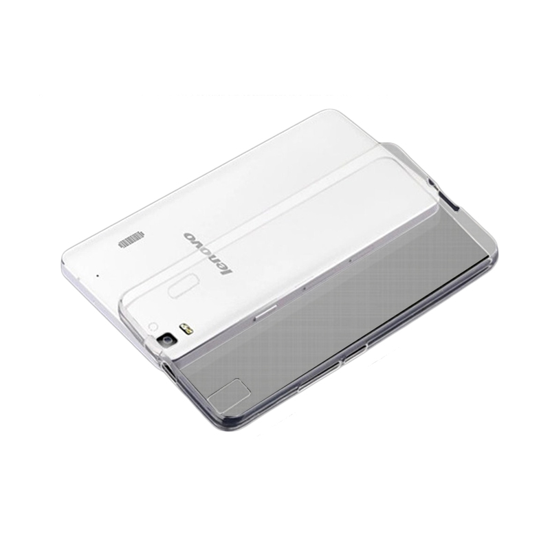Ultrathin Softcase Casing for Lenovo A7010 - Putih Clear