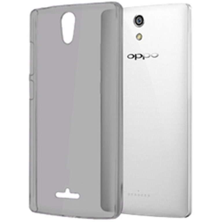 Ultrathin Clear Softcase Casing for Oppo Neo 3 - Hitam