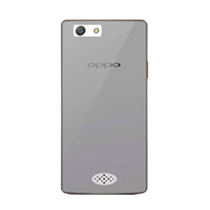 Ultrathin Clear Softcase Casing for Oppo Neo 5 - Hitam