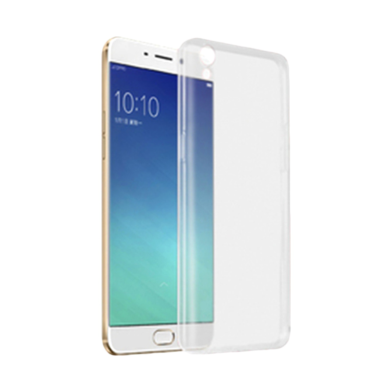 Ultrathin Clear Softcase Casing for Oppo Neo 9 - Putih