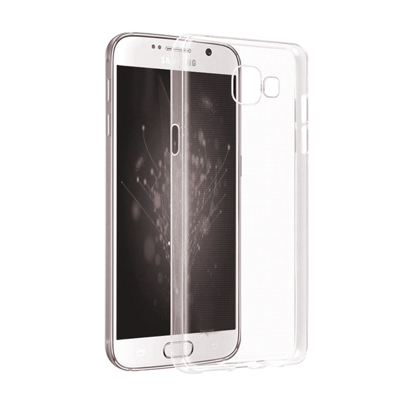 Ultrathin Softcase Casing for Samsung A310 - Putih Clear