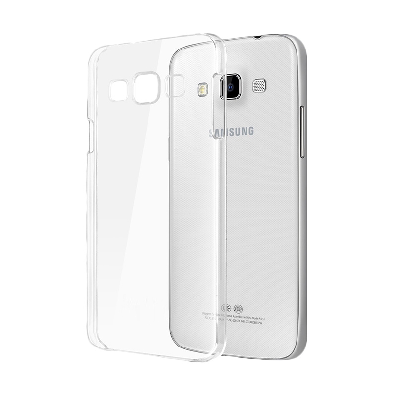 Ultrathin Softcase Casing for Samsung A5 - Putih Clear