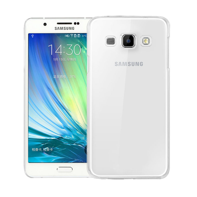 Ultrathin Softcase Casing for Samsung A8 - Putih Clear