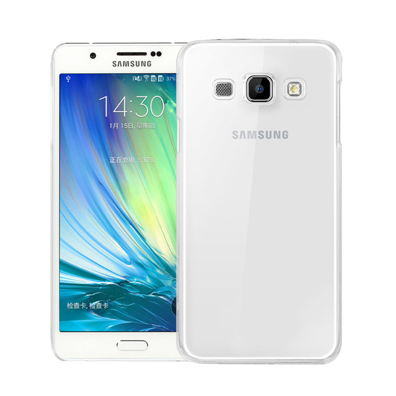 Ultrathin Softcase Casing for Samsung J1 Mini J105 - Putih Clear