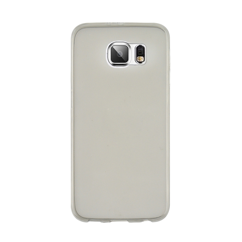 Ultrathin Softcase Casing for Samsung S6 - Hitam Clear