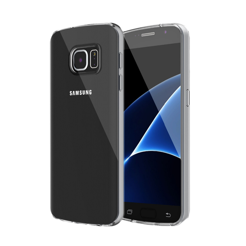 Ultrathin Softcase Casing for Samsung S7 - Hitam Clear