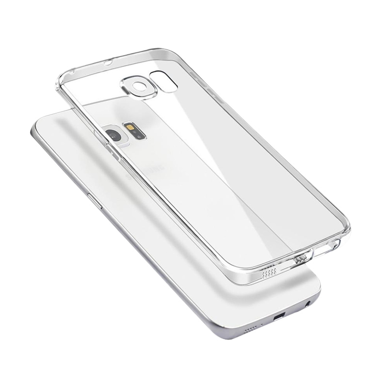 Ultrathin Softcase Casing for Samsung S7 - Putih Clear